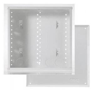 "ON-Q EN1400 14"" Enclosure with Screw-On Door, 14.1"" H x 14.3"" W x 3.7"" D, White"