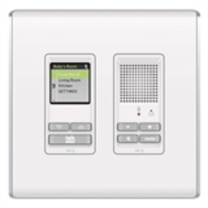 ON-Q IC5000-WH Wall Mount, Selective Call, OnQ, Room Unit, White, 24VDC
