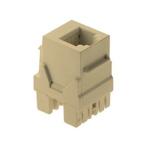 ON-Q WP3425-IV Snap-In Connector, AnyPort, Voice Grade, 6P6C, Ivory