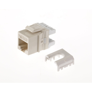 ON-Q WP3425-LA Snap-In Connector, AnyPort, Voice Grade, 6P6C, Light Almond