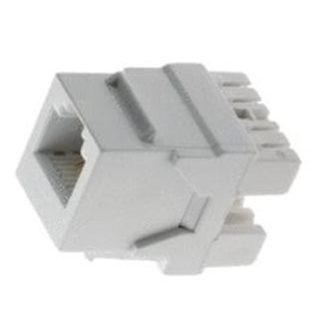 ON-Q WP3425-WH Snap-In Connector, AnyPort, Voice Grade, 6P6C, White