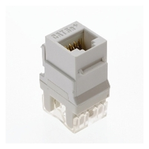 ON-Q WP3450-WH Snap-In Connector, AnyPort, Voice Grade, 6P6C, White