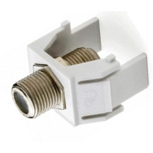 ON-Q WP3479-WH Snap-In F-Connector, White