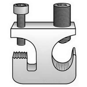OZ Gedney CTGC-6-25A Cable Tray Ground Clamp, # 6 - 250,