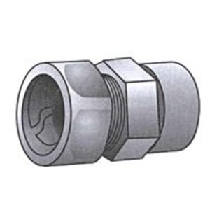 "OZ Gedney ETR-50 Transition Coupling, RMC/IMC to EMT, 1/2"", Iron"