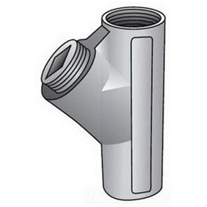 "OZ Gedney EY-75 Conduit Seal, 3/4"", Female/Female, Vertical (25% Fill), Malleable"