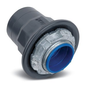 "Ocal HUB11/2-G Conduit Hub, 1-1/2"", PVC Coated Zinc"