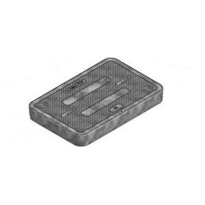 Oldcastle Precast 02006175 Lid, Fl09 T - 'Electric'