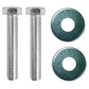 """Oldcastle Precast 08001365 Fibrolite Bolt Kit, Hex Head 3/8 x 2-1/2"""", Stainless Steel"""