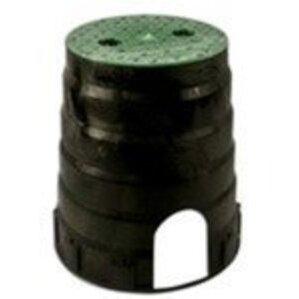 "Oldcastle Precast 09101012 Underground Pullbox With Cover, 10"" Diameter, HDPE"