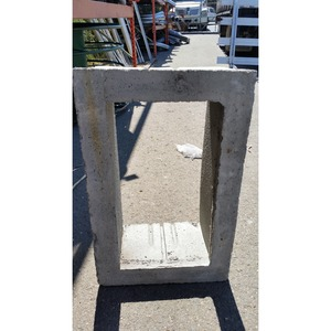 """Oldcastle Precast 1000290 Extension, Height: 12"""", For Use With B1324 Box, Reinforced Concrete"""