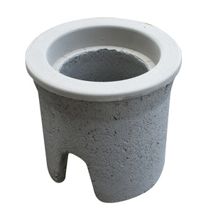 "Oldcastle Precast 1000370 Round Pull Box, Diameter: 8"", Depth: 12"", Concrete"
