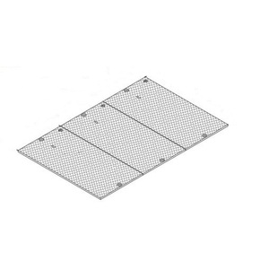 "Oldcastle Precast 2002810 Cover, Type: 3-Piece/Steel Checker Plate, Size: 30 x 48"", Mark: ELECTRIC"