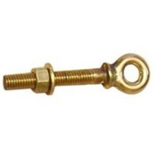 Oldcastle Precast N99HHB Brass Hex Head Swing Bolt, Set of 2