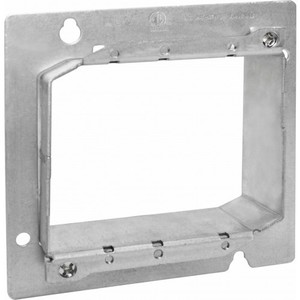 "Orbit Industries 5SAR2G 4-11/16"" Square Cover, 2-Device, Mud Ring, Adjustable Depth"