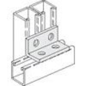 PHD Manufacturing S5130EG Four-Hole Corner Angle Fitting, Steel, Electro-Galvanized