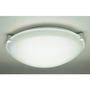 PLC Lighting 3453WH Ceiling Light, 1 Light, 150W, White