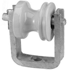 PPC Insulators 4113 Insulated Wireholder, Bolt-On Type