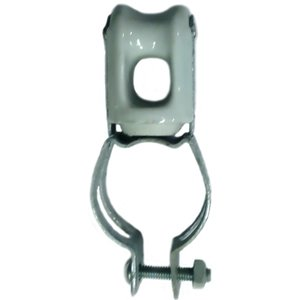 PPC Insulators 6416 Wire Holder, 2 Inch, Clamp Type, Porcelain.
