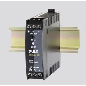 PULS ML30.241 Power Supply, 30W, 1.3A, 28VDC Output, 240VAC, 300VDC Input, IP20