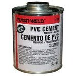 G40436S PVC Cement - Clear, 1-Quart | Tuggl