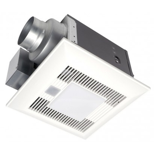 Panasonic FV-08VQCL6 Humidity Sensing Fan/Light, 80 CFM
