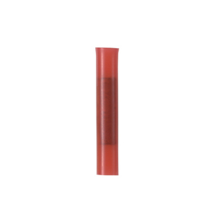Panduit BSN18-C Butt Connector, Nylon Insulated, 22 - 18 AWG, Red, Pack of 100