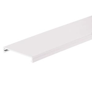 "Panduit C2WH6 PANDUCT Wiring Duct Cover, 2"" x 6', PVC, White"
