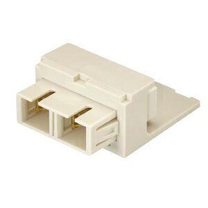 Panduit CMSEISCEI SC Fiber Optic Adapter Module, SC Multimode, Ivory