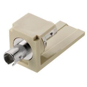 Panduit CMSTEI ST Simplex Fiber Adapter, Ivory Module