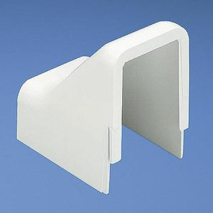 Panduit DCF5WH-X Drop Ceiling/Entrance End Fitting / LD5 Raceway, Non-Metallic, White