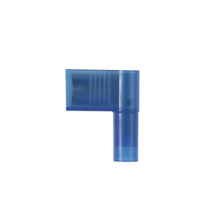 """Panduit DNFR14-250B-M Right Angle Female Disconnect, Nylon Insulated, 16 - 14 AWG, .25"""" x .032"""" Tab"""