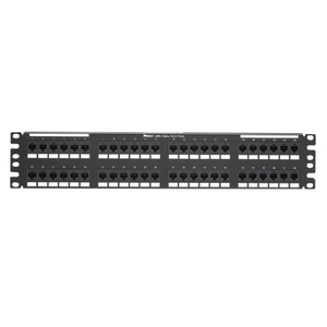 Panduit DP486X88TGY 48 Port Cat 6A Patch Panel