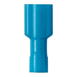 Panduit DPF14-250FIB-C Female Disconnect, Nylon Insulated, Funnel Entry, 16 - 14 AWG, Blue