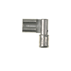 "Panduit DR14-250-M Right Angle Female Disconnect, Non-Insulated, 12 - 10 AWG, .250"" x .032"" Tab"