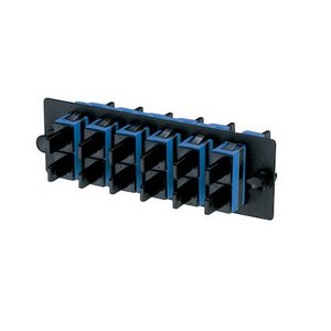 Panduit FAP6WBUDSC Molded Plate, Blue, Single-Mode OS1/2, Duplex SC, 6 Fibers