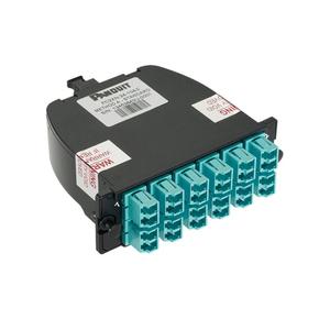 Panduit FC2XN-24-10AS LC Adapter, Fiber Cassette, OM3 10Gig, 50/125 um, Duplex, 24 Fiber
