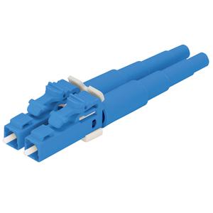 Panduit FLCDSCBUY Connector, Duplex, Pre-Polished, Fiber Optic, LC, Blue
