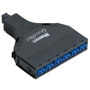 Panduit FQ9N-12-10AF LC Adapter, Fiber QuickNet, OS1/OS2, Duplex, 12 Fiber, 0.75dB Loss