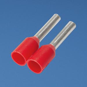 Panduit FSD77-8-3K2 Insulated Ferrule, Single Wire, 18 AWG, Copper