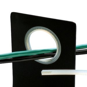 Panduit GES99F-A-C0 Grommet Edging, Solid 100', Adhesive Pol