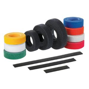 Panduit HLS-75R0 Hook & Loop Cable Tie, Black
