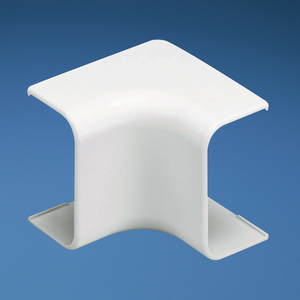 Panduit ICF10IW-X Right Angle Fitting, LD10 Raceway, Non-Metallic, White