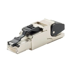 Panduit ISPS688FA Modular Plug, RJ45, Field Terminable, Category 6A