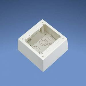 Panduit JBP2DIW 2-Gang, 2-Piece, Deep Outlet Box