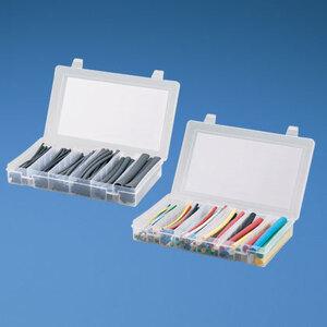 Panduit KP-HSTT1 Heat Shrink Kit, Multiple Diameters, Thin Wall, Black