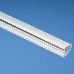 "Panduit LD5EI6-A Non-Metallic Surface Raceway, One-Piece, Hinged, 1"" x 6', Ivory"