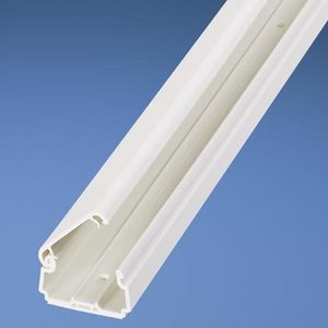 "Panduit LDPH3IW6-A Raceway, Latching, .75"" x .41"" x 6', Off-White"