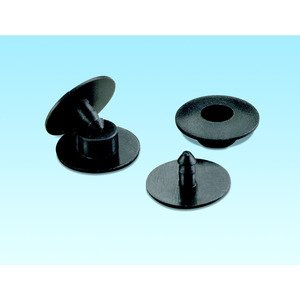 "Panduit NR4BL-L Accessory, Snap Rivet, 4"" x 4"" (100mm x"