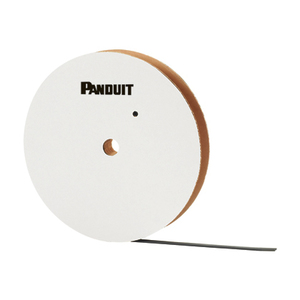 "Panduit PCSH-B-CR Cushion Sleeve for Stainless Steel Ties, .47"" Wide, 100' Spool"